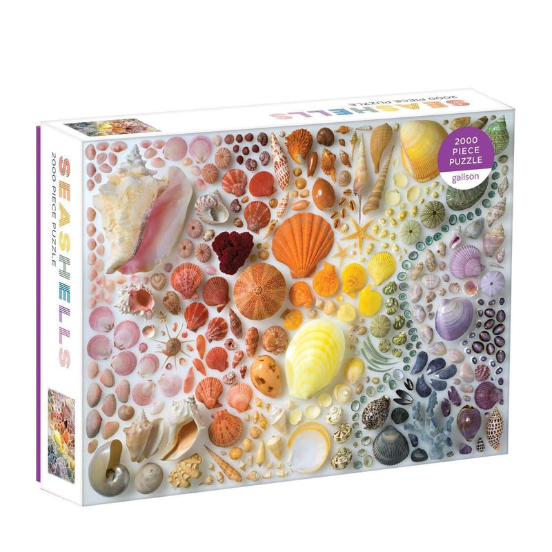 Rainbow Seashells 2000 Piece Jigsaw Puzzle