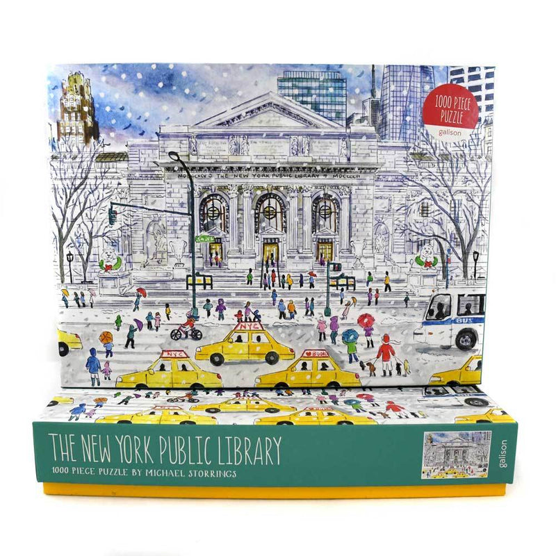 Michael Storrings New York Public Library 1000 PC Puzzle