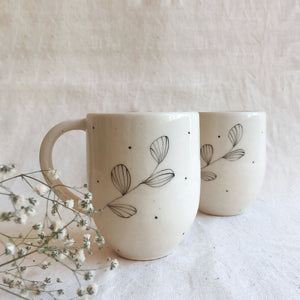 Aparajita Coffee Mugs (Set of 2)