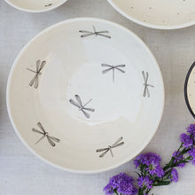Load image into Gallery viewer, Dragonfly Salad Bowl (Sold Individually)