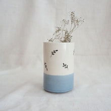Load image into Gallery viewer, Gulmohar Cylinder, Blue (Sold Individually)