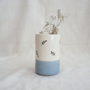 Gulmohar Cylinder, Blue (Sold Individually)