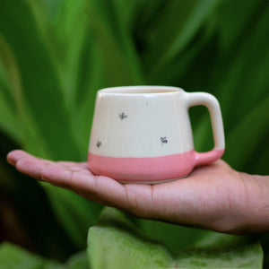 Bela Pink Teacups (Set of 2 )