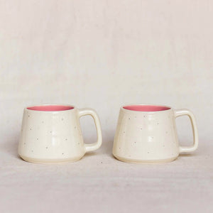Shorshe Teacups, Pink (Set of 2)