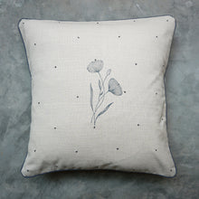 Load image into Gallery viewer, Beige Poppy Cushion Cover