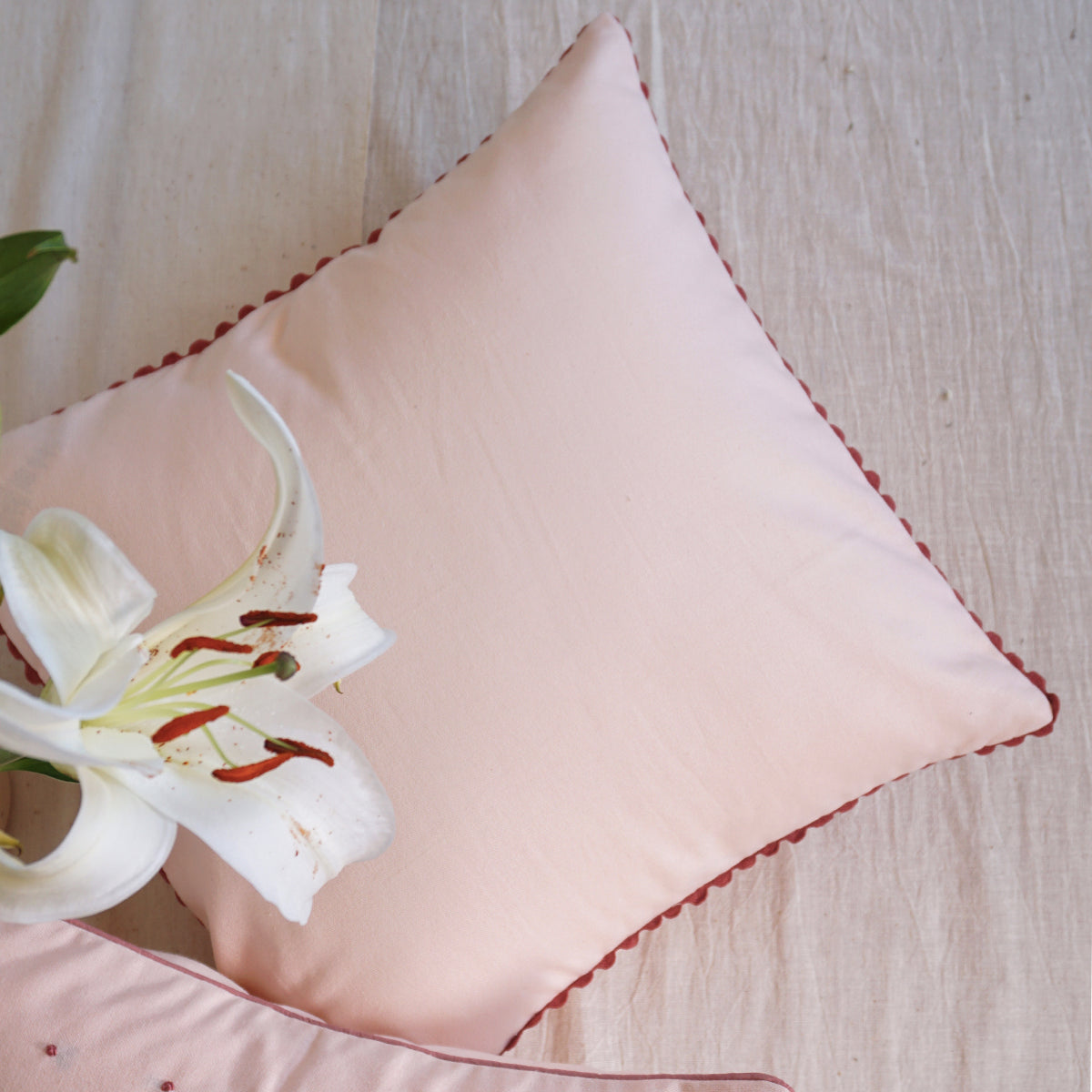 Rosewater Cushion Cover
