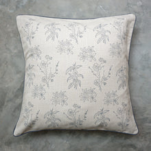 Load image into Gallery viewer, Beige Wildflower Cushion Cover