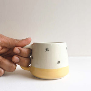 Bela Mustard Teacups (Set of 2 )