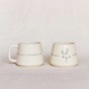 Bougainvillea Teacups (Set of 2)