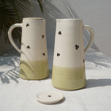 Load image into Gallery viewer, Olive Clover Jug with lid (Sold Individually)