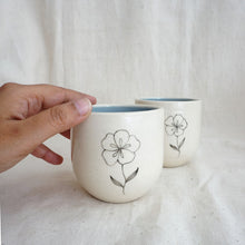Load image into Gallery viewer, Frangipani Herbal Teacups (Set of 2)