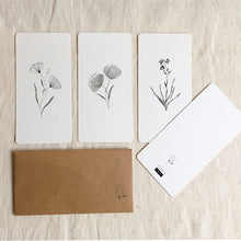 Load image into Gallery viewer, Set of 4 Note Cards (4 Cards, 4 Envelopes)