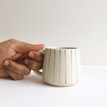 Load image into Gallery viewer, Stripe Teacups (Set of 2 )