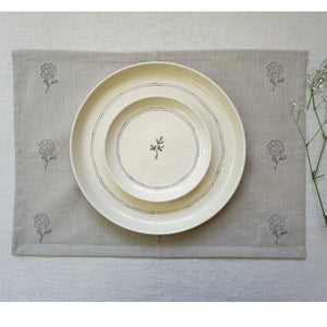 Beige Tagar Placemats (Set of 2)