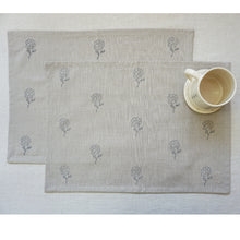 Load image into Gallery viewer, Beige Tagar Placemats (Set of 2)