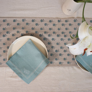 Blue Tagar Table Runner