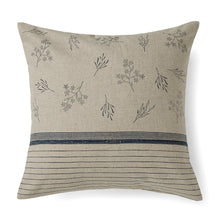 Load image into Gallery viewer, Wildflower Stripe Cushion Cover