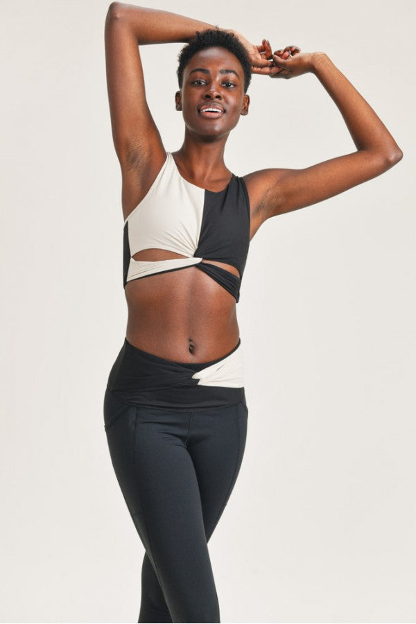 Monochrome Sports Bra