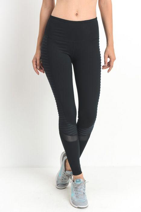 Moto Glide Leggings (Black)