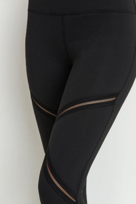 Zig Zag Leggings (Black)