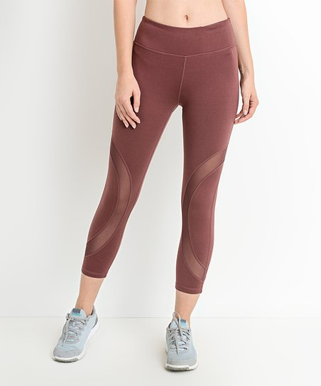 Circular Capri Leggings