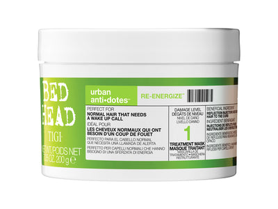 TIGI Bed Head Urban Antidotes Re-Energize Treatment Mask 7.05 oz