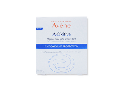 Avene A-Oxitive SOS Antioxidant Sheet Mask - 5 pcs