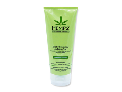 Hempz Green Tea & Asian Pear Mud Body Mask 6.76 oz