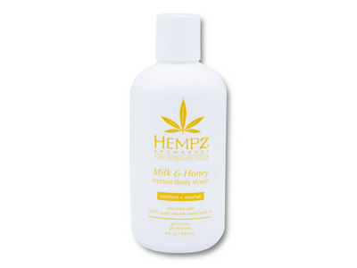 Hempz Milk & Honey Body Wash 8 oz