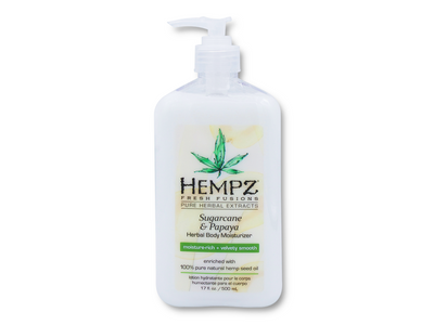 Hempz Sugarcane & Papaya Body Moisturizer 17 oz