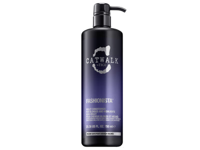 TIGI Catwalk Fashionista Violet Conditioner 25.36 oz