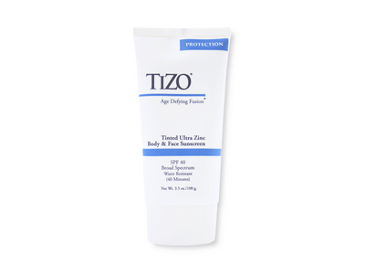 TiZO Ultra Zinc Body & Face Mineral Sunscreen SPF 40 - Tinted 3.5 oz