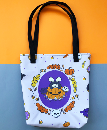Witching Treats All-Over Print Bag by Fat Rabbit Farm