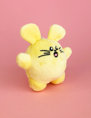 Happy Babee Plush Keychain