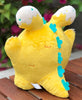 Creamsicle Kaiju Babee Plush by Fat Rabbit Farm