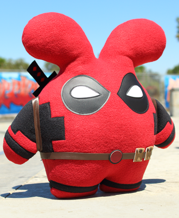 Mercenary Babee Handmade Plush by Fat Rabbit Farm