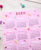 Sweetest Day 2020 Calendar by Fat Rabbit Farm