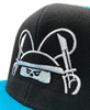 Ninja Time! Snapback Hat Specialty Made to Order by Fat Rabbit Farm