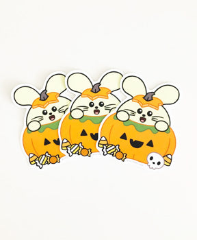 Pumpkin Babee Vinyl Sticker Pack (3) by Fat Rabbit Farm