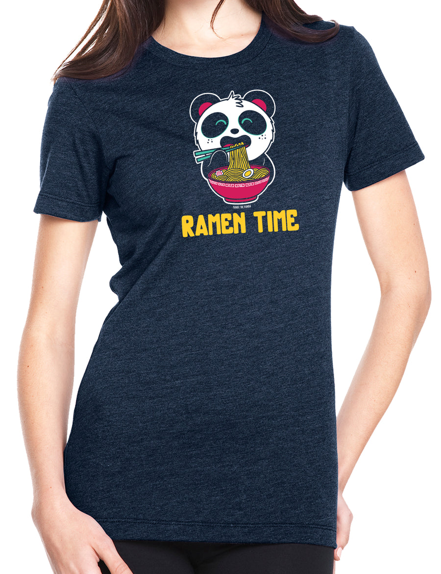Ramen Time! Women's T-shirt by Pandi the Panda