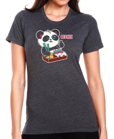 Oishii Women's T-shirt by Pandi the Panda