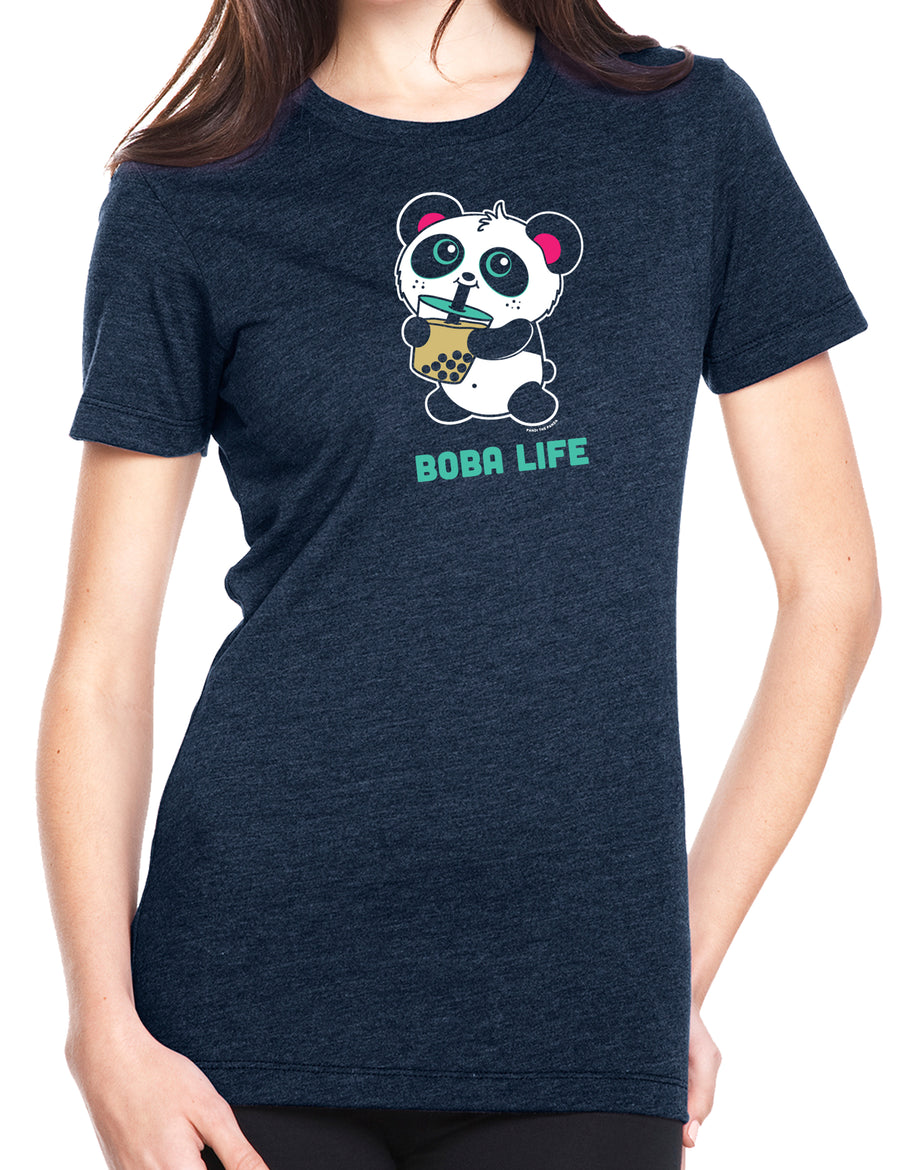 Boba Life Women's T-shirt by Pandi the Panda