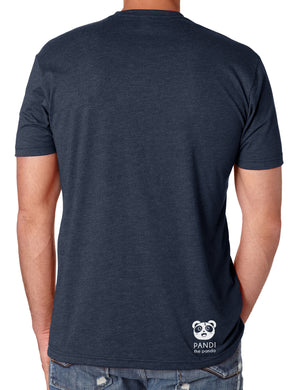 Eat. Game. Repeat Men's T-shirt by Pandi the Panda
