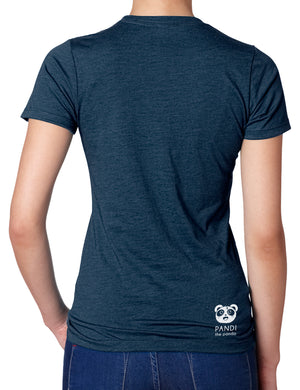 Here for the Churros Women's T-shirt by Pandi the Panda