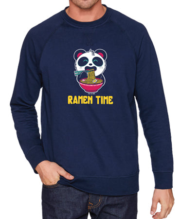 Ramen Time Crewneck Sweatshirt by Pandi the Panda