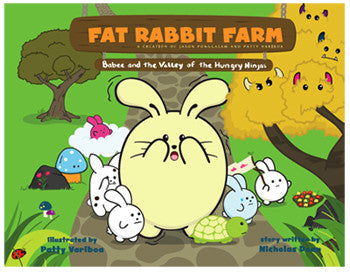 Vol. 1 Babee and the Valley of the Hungry Ninjas Story Book by Fat Rabbit Farm