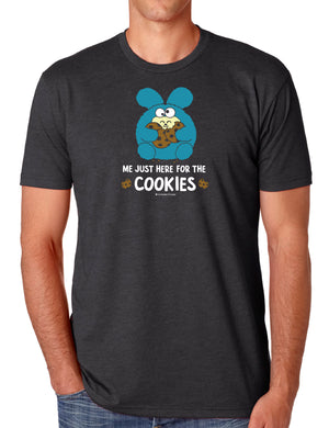 Just Here for the Cookies Men's T-shirt