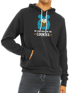 Just Here for the Cookies Unisex Sponge Fleece Pull-Over Hoody