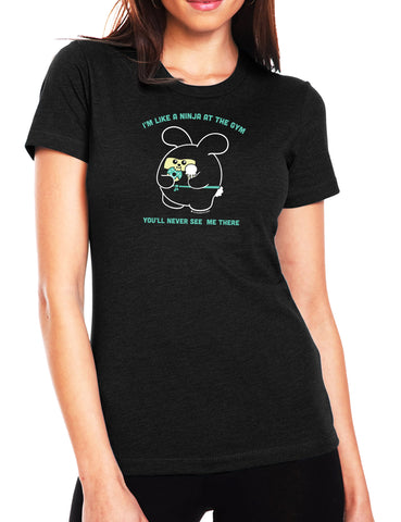 Ninja at the Gym Women's T-shirt