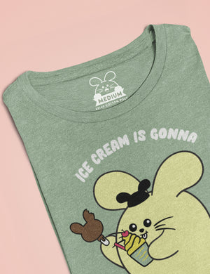 Ice Cream is Gonna Save the Day Women's T-shirt